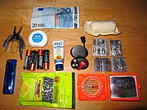 Belt Pack Contents