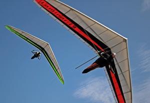 The Icaro Z9 hang glider