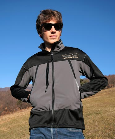 Icaro X-Alps jacket for paragliding superstars and mortals