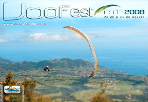 Paragliding in the Azores