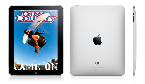 Paragliding and hang gliding on the iPad - get Cross Country magazine through the Zinio magazine app