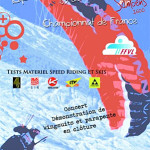 France's first ever speed riding championship: Samoens 2009