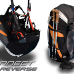 Swing Connect Reverse paragliding harness / rucksack