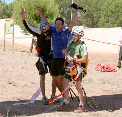 El Yelmo mountain race winners 2009. Photo: http://thomasdedorlodot.blogspot.com/