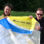 Toby Colombé flies new world tandem record