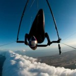 Hang gliding basks in glow of Morning Glory flight