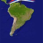 Countdown to start of Latin America tour