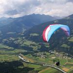 Two German paragliding records