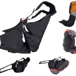 Nervures Fusion modular paragliding harness