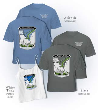 Hang Gliding World Championship 2010 commemorative T-shirts