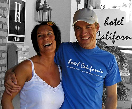 Hotel California's Tracy and Dirk celebrate 15 years of welcoming pilots to their Spanish home
