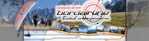 Biotech Bordairline paragliding adventure races