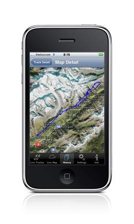 Freethinker Livetrack24lite for Apple iPhone