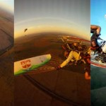 Hernan Pitocco infinite tumbles – with a paramotor