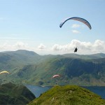 20th Lakes Charity Classic UK free flight festival