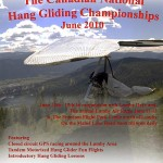 Canadian Hang Gliding Nationals 2010