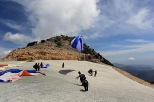 Babadag launch, Oludeniz, Turkey