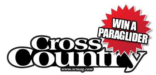 24 hours until someone wins a FREE paraglider with Cross Country magazine