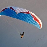 Ozone's new paraglider, the Delta, certified EN C
