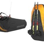 Advance Lightness pod harness and rucksack for hike and fly