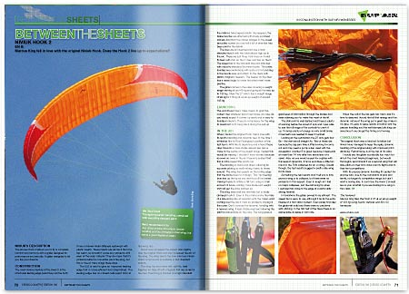 Cross Country Magazine Issue 130 Glider Review - Niviuk Hook 2