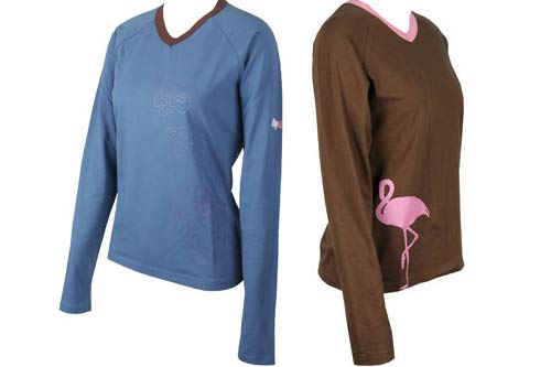 Gin-womens-long-sleeve-t-shirts-summer-2010 | Cross Country Magazine