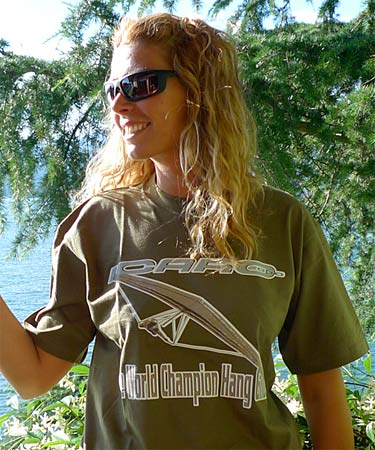 Icaro 2000 World Champion hang glider T-shirt