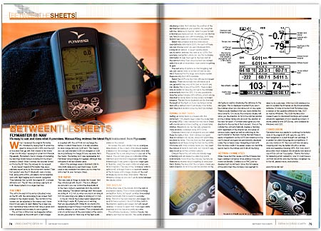 Cross Country Magazine Issue 131 Flymaster B1 Nav Review