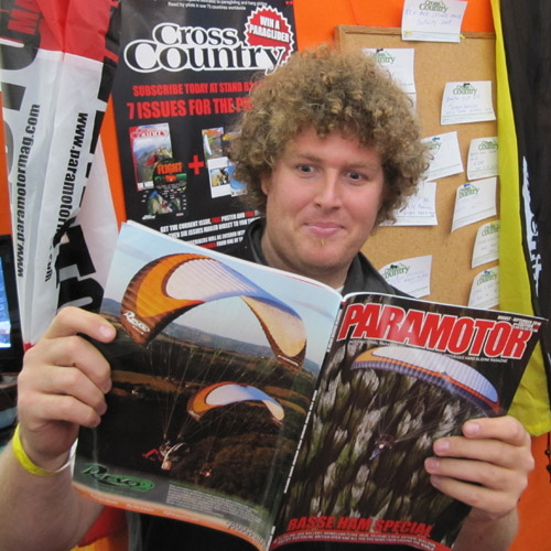 Pascal Campbell-Jones from Paramania and Parabatix gets hot under the collar looking at the latest issue of Paramotor Mag