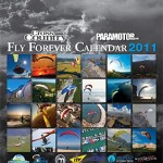 Cross Country and Paramotor Magazines' 2011 Fly Forever calendar