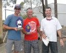 The Gulgong Classic 2010 winners. L-R: Jonny Durand, Steve Blenkinsop, Scott Barett. Photo: the Oz Report