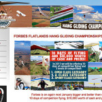 Changes to the Forbes Flatlands Hang Gliding Championships