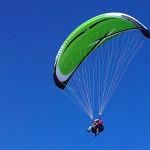 ITV Manitoba tandem paraglider
