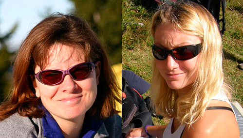 Nina Renate-Brummer and Nicole Fedele. Between them they are dominating the female world paragliding records table.