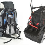 U-Turn's reversible paraglider harness and rucksack, the IQ5