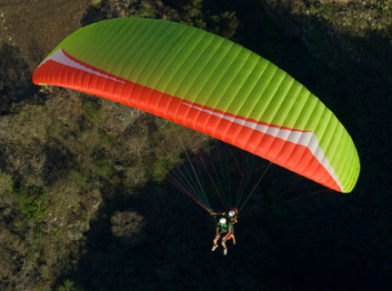 Gin's Safari tandem paraglider has now been certified EN B