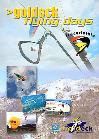 Goldeck Flying Days poster