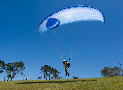 Gradient's new school paraglider, the Bright4