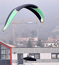 Niviuk's new two-line competition paraglider, the Icepeak 5