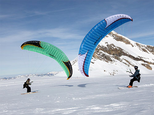 Niviuk's new mini paraglider, the Zion