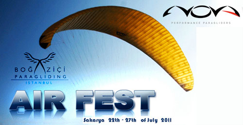 Bogazici Air Festival paragliding festival in Turkey