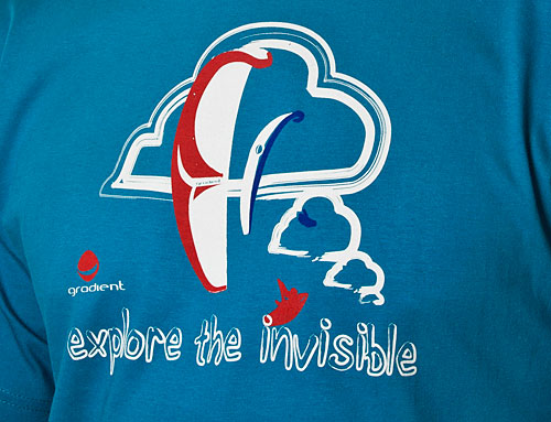Gradient's new Explore the Invisible T-shirt