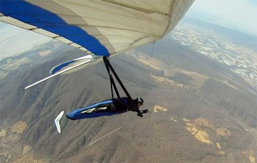 Hang-gliding-Mexico