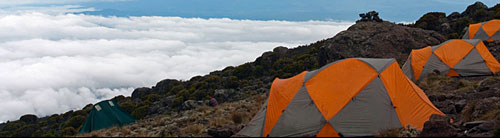 High camp on Kilimanjaro. Photo: www.kili20twelve.com