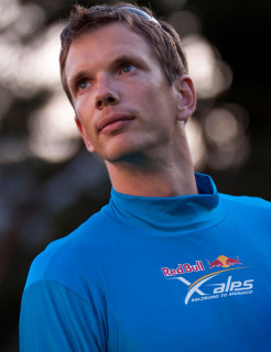 Alex Hofer. Photo: Red Bull X-Alps