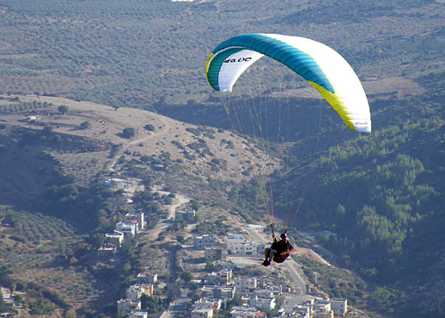 Apco's new three-line EN B paraglider, the Vista II SP