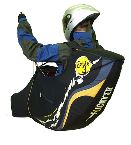 Sky Paragliders' Excite 3 performance harness
