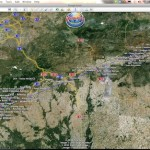 Paragliding World Championships 2011: Task 1: 154km to Arcones