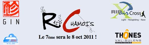 The Raid Chamois 2011 takes place on 8 October
