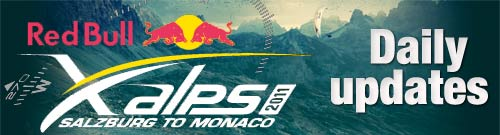 Red Bull X-Alps 2011 daily updates